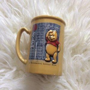 Disney Winnie the Pooh Yellow Coffee Mug